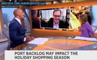 TV: Port Backlog May Impact The Holiday Season